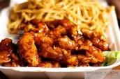 Yin's tso chicken