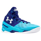 Blue and Turquoise Steph Curry's