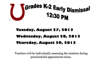 Early Release Day Notice