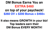 DM Bonus Earners!!