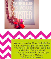 join me next Monday and get all your stylist questions answered