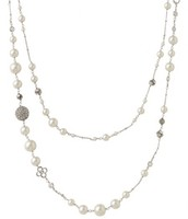 Madeline Pearl- Silver and Ivory $45
