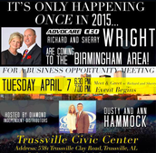 Birmingham Area..Meet our CEO and his wife!