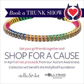April is Austism Awareness Month - Help us raise funds for the HollyRod Foundation