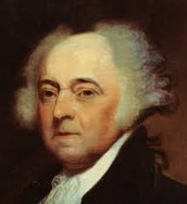 Signed by John Adams.
