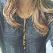 Bianca Lariat Gold