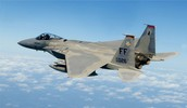 This is a picture of a F-15 eagle