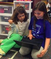 Digital Learning Day Buddies at PES