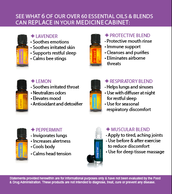Did you know that using Essential Oils is a powerful way to: