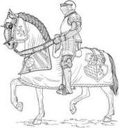 Rüütel oma hobusega