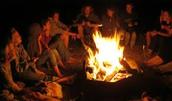 bonfire & smores