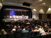 Great Crowd at the Jr. High Band Concert