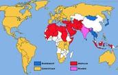 Hinduism Map
