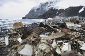pollution on antarctica
