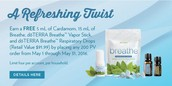 A Refreshing Twist - PROMOTION