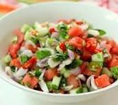 Savory Watermelon Mint Salad