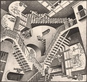 Relativity - MC Escher