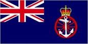 His ship's flag