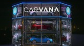 Carvana new glass building