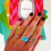 Mary Margaret Stone Ring - Size 7