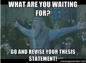REVISE AND REVISE...