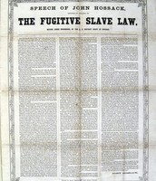Political Side- Fugitive Slave Act
