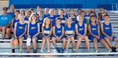 Our Cross Country team from this year