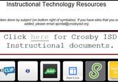 Crosby ISD Instructional Technology