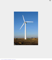 This wind turbine is in a feild