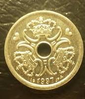 1 Taani kroon, tagakülg