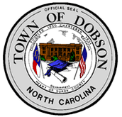 The Dobson Town Seal