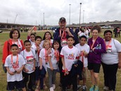 Aracdia Park students participate in Mayor's Race