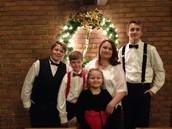 Jennifer Rice and Kids