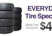 4 Tire Special