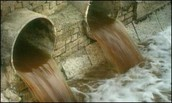 Raw Sewage entering rivers, seas