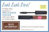 OUR TOP RATED NATURAL MASCARA IS FREE THIS MONTH WITH $95+ PURCHASE