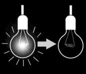 Doe altijd het licht uit als je het lokaal verlaat!