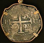 A coin from the Santa Maria de la Consolacion