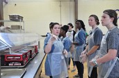 NHS Volunteers their time at the Rescue Mission