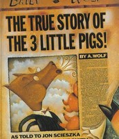 The True Story of the 3 Little Pigs by Jon Scheszka