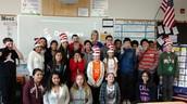 Mrs. Nees' 6th grade class