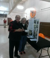 Jerry and Ann Reifel at ISD homecoming