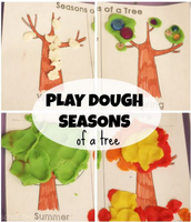 Seasons Play Dough Mat