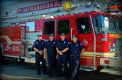 RFD Station #3 Fire Fighters