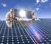 Efecto reflejo de la energía solar