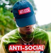 Anti-Social Tees And Hats