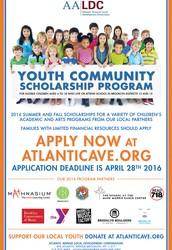 AALDC Youth Community Scholarship Program Application