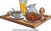 Volwassenen ontbijt - Kinderontbijt