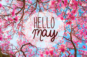 Hello and welcome to May!