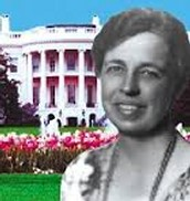 Eleanor with the White House